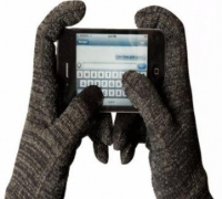 Glider Gloves with full hand and 10 fingers touchscreen functionality