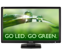 ViewSonic 27-Inch LED-Lit LCD Monitor, Full HD 1080p, HDMI/DVI/VGA, Speakers