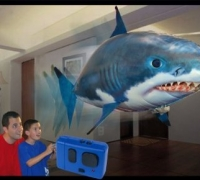 Remote Controlled Flying Shark
