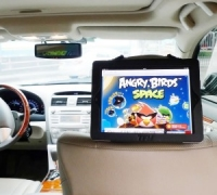 Car Headrest iPad Holder