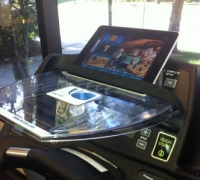 Treadmill iPad Holder