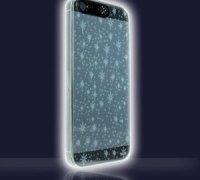 VanD Flashing Stars iPhone Case