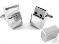 4GB CuffLinks USB Flash Drive