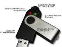 Voice Authenticating 8GB USB Drive