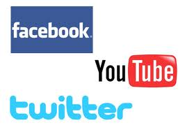 facebook youtube twitter logo social media