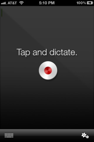 dragon dictation mobile app