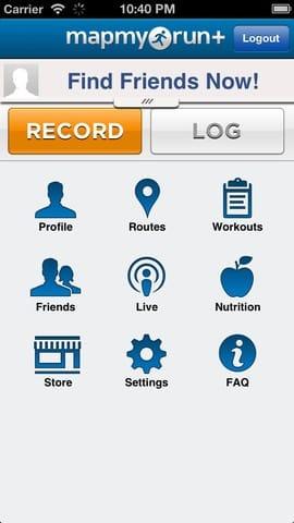 mapmyrun mobile app