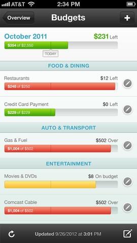 mint.com mobile app