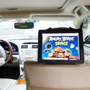 Car Headrest iPad Holder