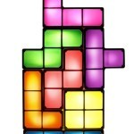 LED Tetris Desk Lamp