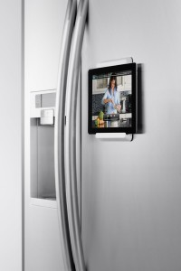 home automation iPad Refrigerator Mount
