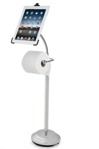 iPad Bathroom Stand dock