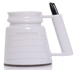 Dry Erase Memo Mug