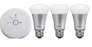 Philips Hue Smartphone or Tablet Controlled Lighting