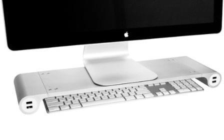 Space Bar Desk Organizer & USB Hub