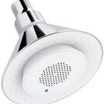 KOHLER K-9245-CP 2.5 GPM Moxie Showerhead and Wireless Speake