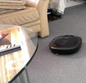 LG HM-BOT Robotic Vacuum