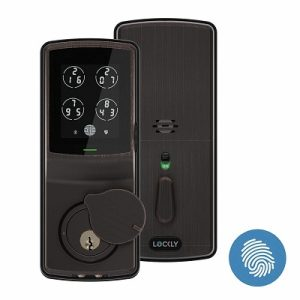 Lockly Fingerprint Bluetooth Keyless Entry Door Smart Lock