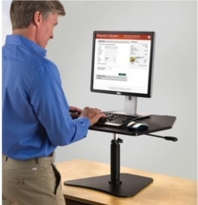 Stand Up Workstation Platform