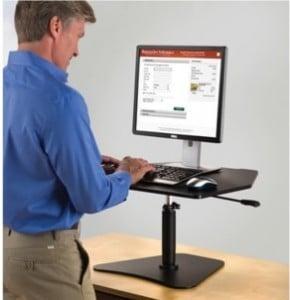Stand Up Workstation Platform