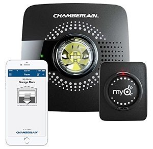 Wifi-Enabled Garage Door Opener Controls