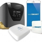 leakSMART Smart Home Kit with Automatic Water Shut-Off Valve, Leak Sensor, and Hub