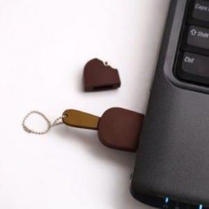 8 GB Chocolate Ice Cream Sandwich USB Flash Drive