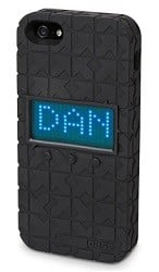 LED Vanity Message iPhone 5 Case