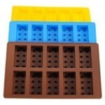 Lego Brick Pattern Ice Cube Jello Tray Maker