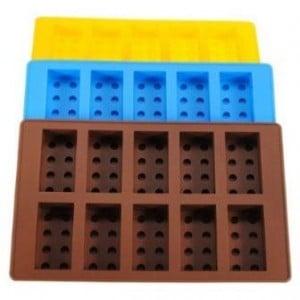 Lego Brick Pattern Ice Cube Jello Tray Maker