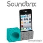 Soundbrix iPhone Lego Stand Amplifier Speaker