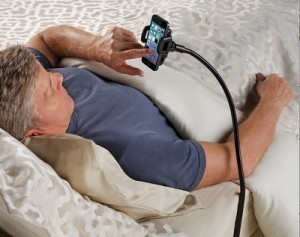 bedroom gadgets The Bedside Smartphone Stand