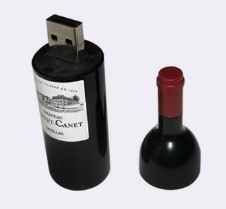 Wine Bottle USB Flash Drives