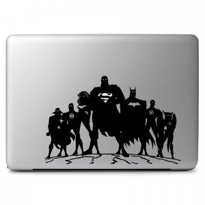 Dc Comics Justice League Macbook Vinyl Decal Sticker Skin