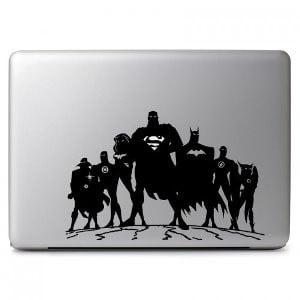 Dc Comics Justice League Macbook Vinyl Decal Sticker Skin