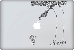 Giving Tree Decal - Vinyl Macbook Laptop Decal Sticker Graphic