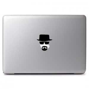 Heisenberg Walter White Breaking Bad Vinyl Decal Sticker Skin for Apple Macbook