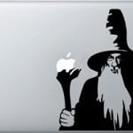 Gandalf the Grey Hobbit Laptop Decal