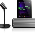 Philips StarMaker Wireless Bluetooth Portable Speaker & Wireless Karaoke Mic for iPad