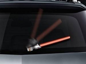 Star Wars Lightsaber Windshield Wiper Cover