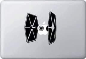 Star Wars Tie Fighter Laptop Decal