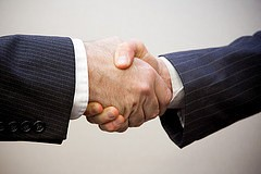 b2b events handshake