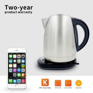 AIMOX Smart Wifi Stainless Steel Electric Kettle through Smartphone Remote On/Off Switch and Temperature Control