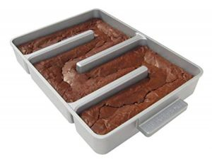Nonstick Edge Only Brownie Pan