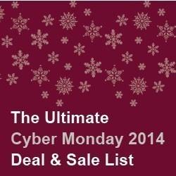Cyber Monday 2014 Deals Sales