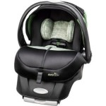 Evenflo Advanced Embrace DLX Infant Smart Car Seat