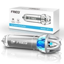 FRiEQ Car Air Freshener and Ionic Air Purifier