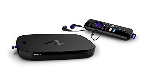 streaming devices Roku 4 Streaming Media Player
