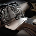 Steering Wheel Attachable Work Surface Tray