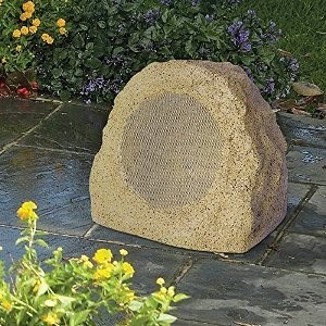 ION Rock Speaker Bluetooth Outdoor Wireless Garden and Patio Speaker